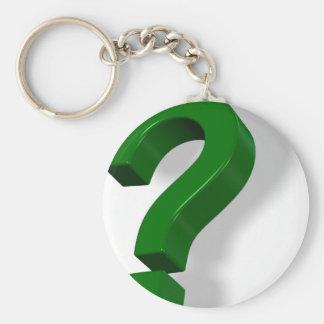 question mark symbol key chains