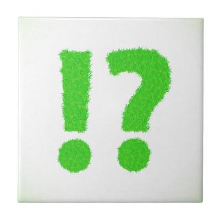 question mark tile