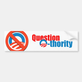 Question Othority Bumper Sticker