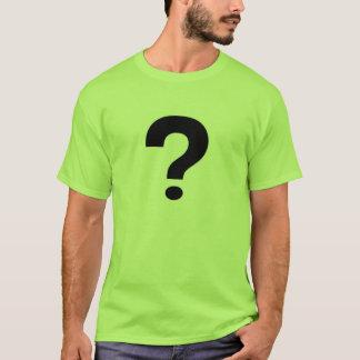question shirt