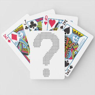 Questioning Bicycle Playing Cards