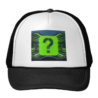QUESTIONS environmental global warming NVN249 Mesh Hat