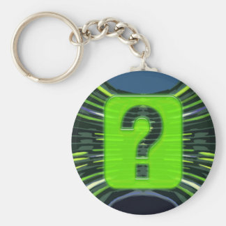 QUESTIONS environmental global warming NVN249 Keychains