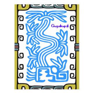 QUETZALCOATL AZTEC MAYA 07 CUSTOMIZABLE PRODUCTS POSTCARD