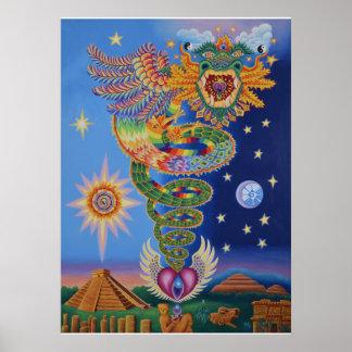Quetzalcoatl Returns Poster