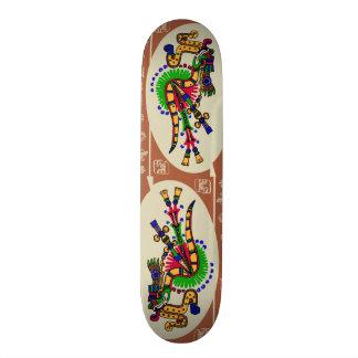 Quetzalcoatl. Tribal Aztec Skateboard