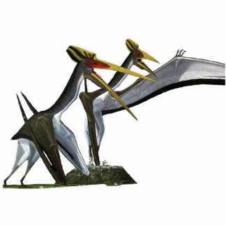 Quetzalcoatlus Family Photo Sculpture Gregory Paul