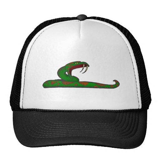 queue snake trucker hats