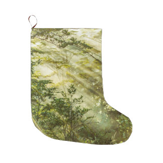 Queulat Park, Patagonia Forest Landscape, Aysen, Large Christmas Stocking