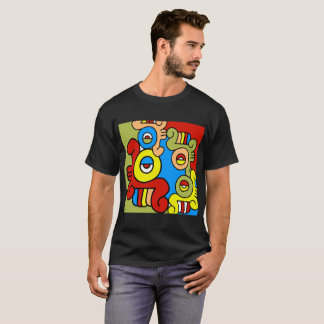 Quiahuitl by Jesse Raudales T-Shirt