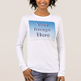 Quick Genius Custom Image Template Long Sleeve T-Shirt