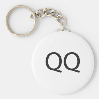 Quick Question -or- Cry More ai Key Chain