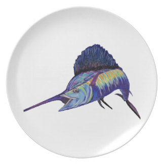QUICK TO FIGHT PARTY PLATES