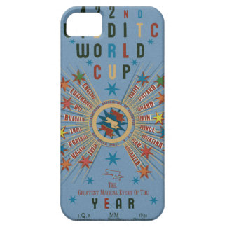 QUIDDITCH™ World Cup Blue iPhone 5 Cases