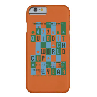 QUIDDITCH™ World Cup Checkerboard Poster Barely There iPhone 6 Case