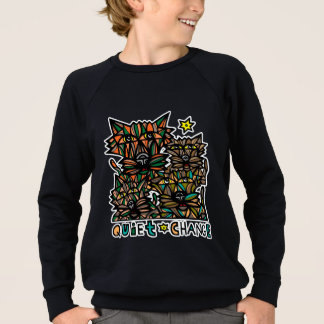 """Quiet Change"" Boy's American Apparel Sweatshirt"