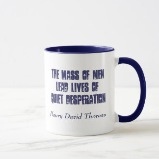Quiet Desperation... Mug