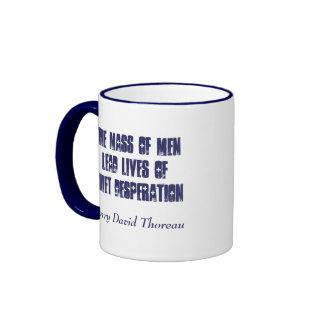 Quiet Desperation... Coffee Mug