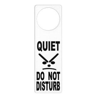 Quiet Do Not Disturb Door Hanger