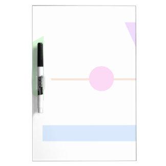 Quiet Dry Erase Board