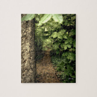Quiet Forest Path Jigsaw Puzzle