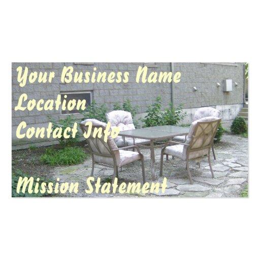 Quiet Getaway Business Card Template