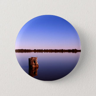 Quiet Lake 6 Cm Round Badge