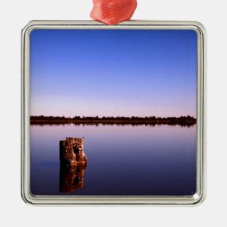 Quiet Lake Metal Ornament