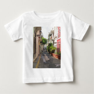 Quiet Little Street of Puerto Rico Baby T-Shirt