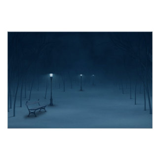 Quiet Night Poster