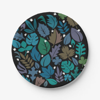 Quiet Nights Paper Plates 7 Inch Paper Plate