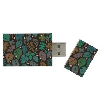 Quiet Nights USB Flash Drive Wood USB 2.0 Flash Drive