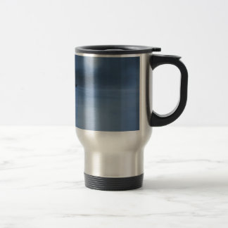 quiet ocean night alone travel mug