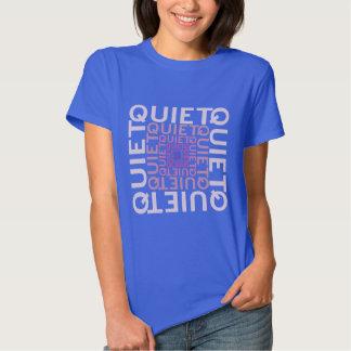 Quiet Pink Word Cloud Tshirt