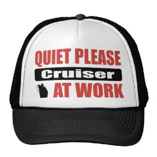 Quiet Please Cruiser At Work Mesh Hat