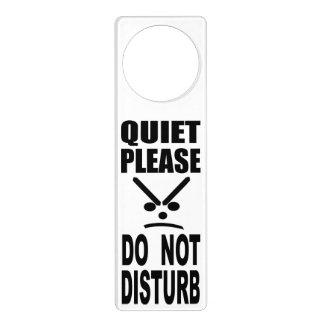 Quiet Please Do Not Disturb Door Hanger