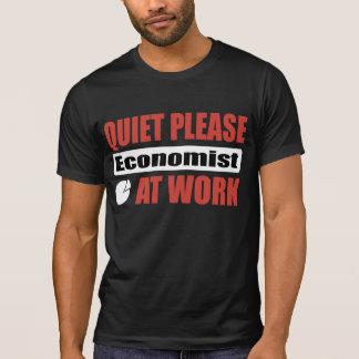 Quiet Please Economist At Work T-shirt