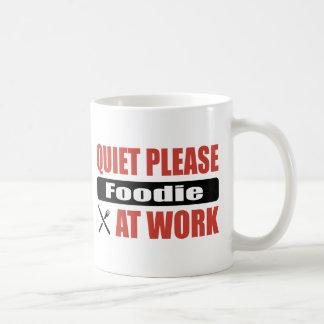 Quiet Please Foodie At Work Mug