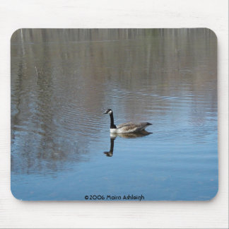 Quiet Reflection Mouse Pad