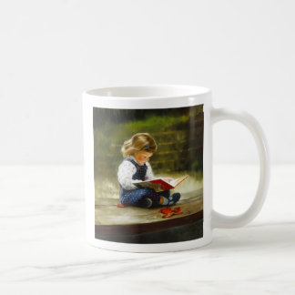 Quiet Time Classic White Coffee Mug