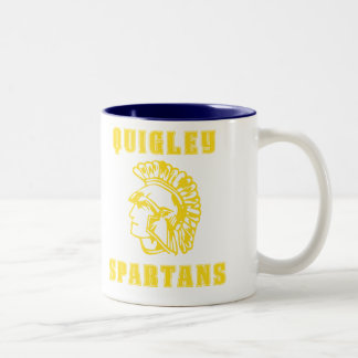 Quigley South Spartans Coffee Drinking Mug