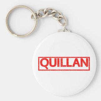 Quillan Stamp Basic Round Button Key Ring