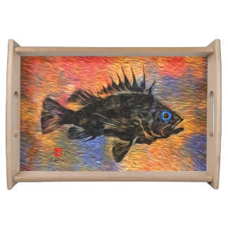 Quillback Rockfish - Small Serving Tray