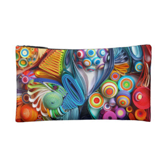 Quilling Cosmetic Bag