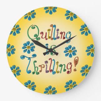 Quilling Is Thrilling Wallclock