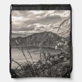 Quilotoa Lake Latacunga Ecuador Drawstring Bag