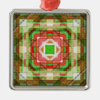 Quilt blocks series #2 christmas tree ornaments