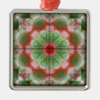 Quilt blocks series #4 christmas ornament