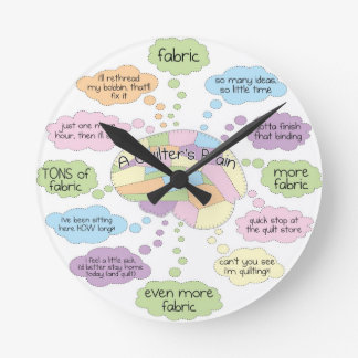 Quilt Brain Clock