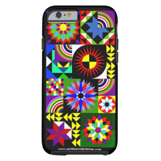 Quilt Collage iPhone Case